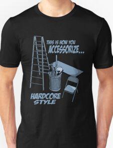Hardcore accessorizing Unisex T-Shirt