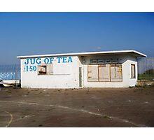 Jugs of tea. Photographic Print