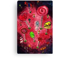 Candy wonderland Canvas Print