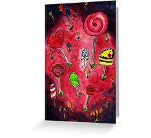 Candy wonderland Greeting Card