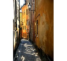 Stockholm Alley Photographic Print
