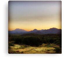 Sea of Cortez Sunset Canvas Print
