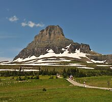 Logan Pass, Glacier National Park, Montana by jcimagery