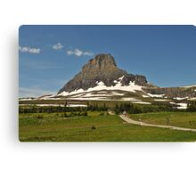 Logan Pass, Glacier National Park, Montana Canvas Print