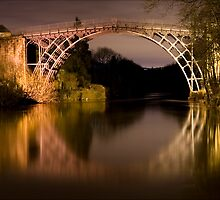 Ironbridge at Night by Steve Green