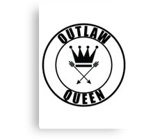 Once Upon a Time - Outlaw Queen Canvas Print