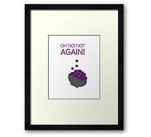 Hitchhiker's Guide to the Galaxy Framed Print