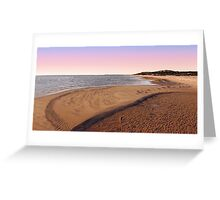 Shark Bay Beach At Dawn  Greeting Card
