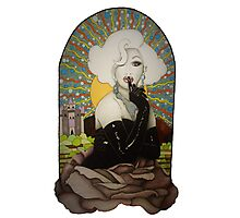 Clear Background Jinkx Monsoon Design Photographic Print