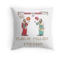 Flagler College Symposium Throw Pillow