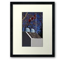 Canadian Cenotaph  Framed Print