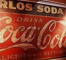 Coca-Cola Sign by Rodney Williams
