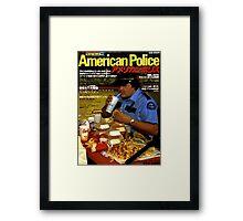 American Police Framed Print