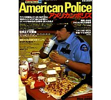 American Police Photographic Print