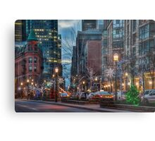The St. Lawrence Market Area of Toronto at Holiday Time Metal Print