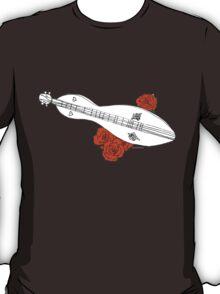 Appalachian/Mountain Dulcimer & Roses T-Shirt