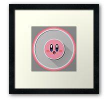 Kirby - Logo V.02 Framed Print