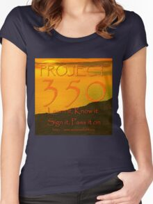 The Project 350 Women's Fitted Scoop T-Shirt