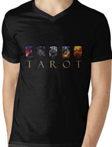 TAROT Mens V-Neck T-Shirt