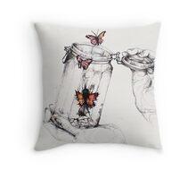 The Greatness of Man Throw Pillow