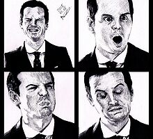 Jim Moriarty by fredcous
