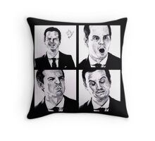 Jim Moriarty Throw Pillow