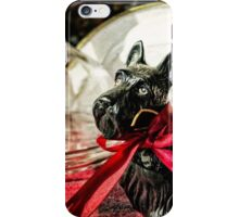 Scotties In The Window iPhone Case/Skin