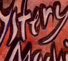 Mystery Machines Logo 2 Sticker