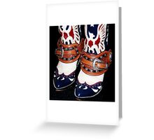 Roy's Boots Greeting Card