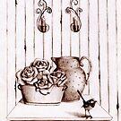 Curious birdie by Elisabete Nascimento
