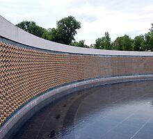 World War II Memorial, Washington DC, USA by Pat Herlihy