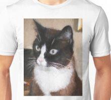 Pensive Kitty Unisex T-Shirt