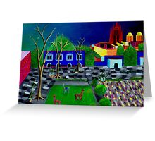 Surreal San Miguel Greeting Card