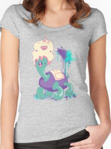 [what A pair] Women's Fitted Scoop T-Shirt