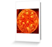 Great Ball Of Fire! Greeting Card