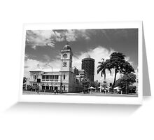 Old Townsville Post Office, Flinders Mall, East. Townwsville Greeting Card