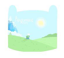 Adventure Time Awaits by graetkel