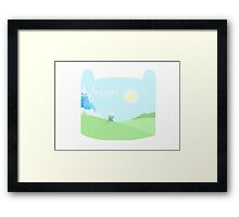 Adventure Time Awaits Framed Print