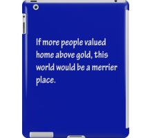 A Merrier Place - White iPad Case/Skin