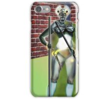 Digital Fantasy Figure Illustration: Cat's Eyes iPhone Case/Skin