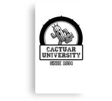 Cactuar University  Canvas Print