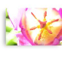 Electric Tulip Canvas Print