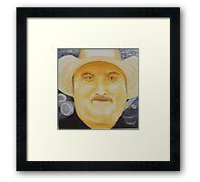 A.K.A. Billy James Framed Print