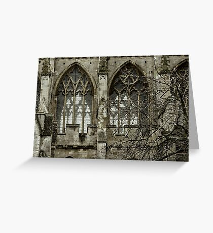 Gothic Cathedral Greeting Card