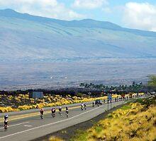 Long road ahead... Kona Ironman by jjshoots