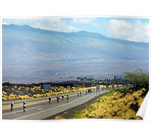 Long road ahead... Kona Ironman Poster