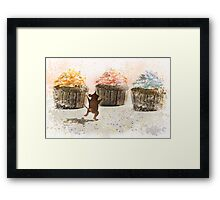 Cupcake Joy Framed Print