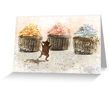 Cupcake Joy Greeting Card