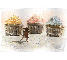 Cupcake Joy Poster