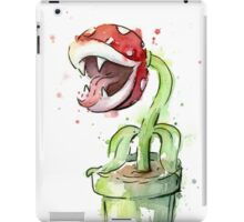 Piranha Plant Watercolor iPad Case/Skin